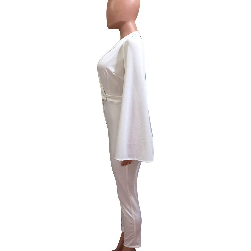 b5eedd367b36 Detail Feedback Questions about white jumpsuit romper plus size ...