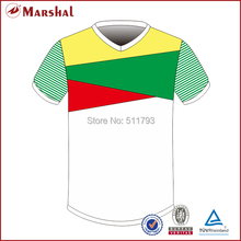 Free shipping cheap sublimated soccer uniform,In stock Football soccer shirt,Football shirt maker soccer jersey(China)