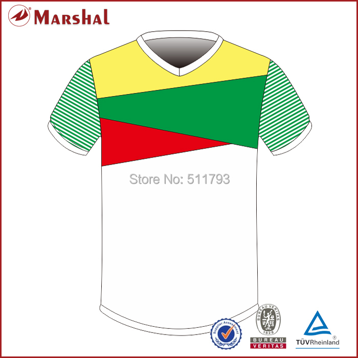 Free shipping cheap sublimated soccer uniform,In stock Football soccer shirt,Football shirt maker soccer jersey(China (Mainland))
