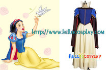 Snow White and the Seven Dwarfs Snow White Cosplay Costume H008