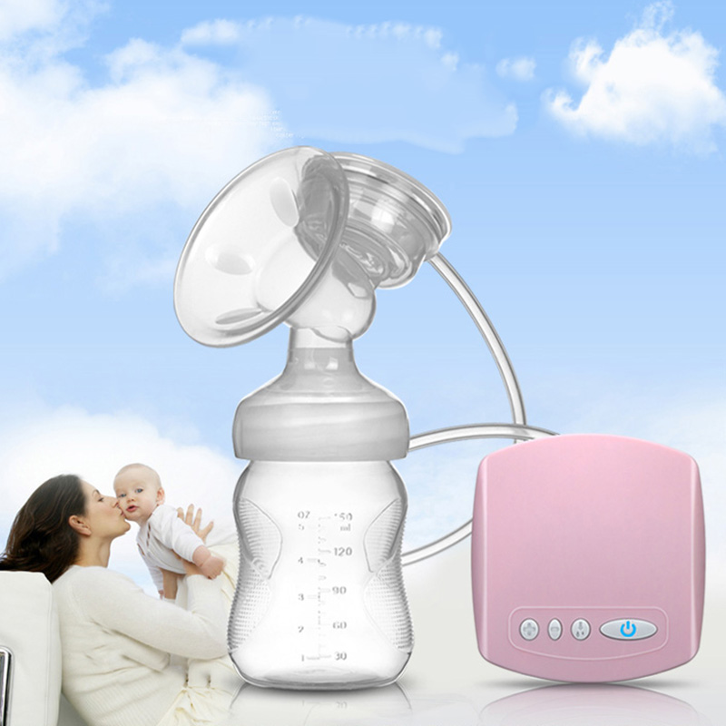 5V USB electric Breast Pumps Wide caliber Breast Feeding Silicone pacifier