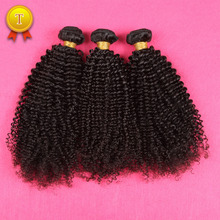 Mongolian Kinky Curly Virgin Hair 3Pcs/lot Brazilian Kinky Curly Virgin Hair,Best Afro Kinky Curly Hair Human Weave