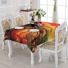 2016 New Family Expenses A Variety of Colors Fruit Pattern Tablecloth Creative Design Customized Acceptable ZS-13(China)