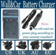 AC Home + DC Car Battery Charger for Pentax D-LI88, DLI88 and Pentax Optio H90, P70, P80, W90, WS80 Digital Camera(China)