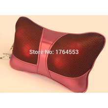 Hot 2015!! Infrared Heating Car Double Massage Device Neck Massage Pillow Massage Car Massager Cushion,Car Seat Covers,Headrest