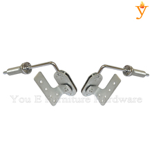 Popular Style Angle Adjust Furniture Hardware Sofa Headrest Hinges D43(China)