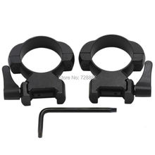 QD Lever Lock 30mm Scope Mount Steel High Profile Weaver Picatinny Rail Quick Release Scope Ring Hunting Accessories
