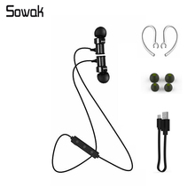 Sowak Stereo Earphones Bluetooth Wireless Headset Micophone Earbuds Iphone Sumsung Android Xiaomi Huawei sony - WISHOP Store store