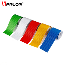 5cmx3m Safety Mark Reflective tape stickers car-styling Self Adhesive Warning Tape Automobiles Motorcycle Reflective Film 5color