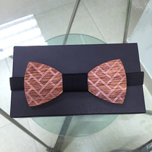 Hot Fashion men engrave wooden bow tie Accessory wedding party Wood Bow Tie For Men Butterfly Neck Ties