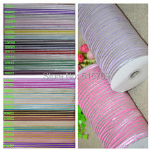 Lovely Horizontal stripes Elastic Ribbon-100yards Free shipping DIY baby headbands materials Elastic Ribbon(China)