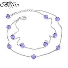 BAFFIN Beads Chain Charm Bracelets Crystals From Swarovski Elements Multi-layer Pulseras Women Jewelry One Direction