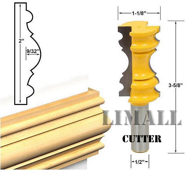 1/2 diagonal cutter knife handle high-end lines engraving machine woodworking cutter waist knife gate line knife<br>