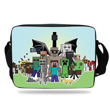 Cool Game Cartoon messenger Bag For kids School Single shoulder Bag For Boys and Girls Shoulder Messenger Bag Teenager children(China)