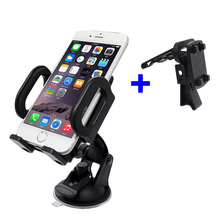 2 in 1 Car Mobile Cell Phone Windshield Dashboard Air Vent Holder for Huawei p10/p9/plus/mate 9/Oneplus 3/3T/Xiaomi mi5/LG g6/g5