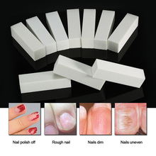 10Pcs/set Nail Art Buffer File Dead Skin Remover Sponge Sanding Buffing Block Polisher Nail Tools Pedicure Manicure Nail File(China)