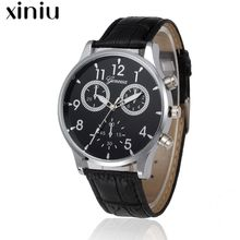 Xiniu luxury relogio masculino quartz watch men clock unique style horloges mannen wristwatches best gift high quality watches#4(China)