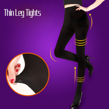 Buy 2017 Hot Sale Women's Ladies Girls Pantyhose Sexy thin legs anti-off silk Stockings Fat Burning varicose Veins Collant