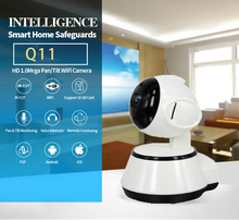Q11 IP Camera Wi-Fi Wireless Smart Dog Security wifi Camera Micro SD Network Rotatable Defender Home Telecam CCTV Android IOS PC