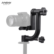 Andoer Heavy Duty Metal Panoramic Tripod Head for Canon Nikon Sony DSLR Camera Camcorder Bird Watching with Quick Release Plate(China)