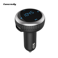 Car Bluetooth FM Transmitter FM Modulator Bluetooth Handsfree Car Kit Voltage Monitor SD Card Dual USB Car Charger MP3 Player