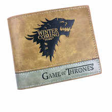 Top DRAGON BALL Game of Thrones A lot of mixed color wallet animation(China)