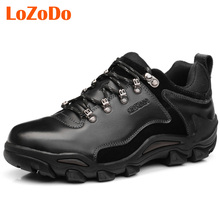 LoZoDo Outdoor Winter Hiking Shoes for Men Mens Trekking Climbing Shoe Boot Athletic Sport Boots Warm Hunting Climbing Shoes