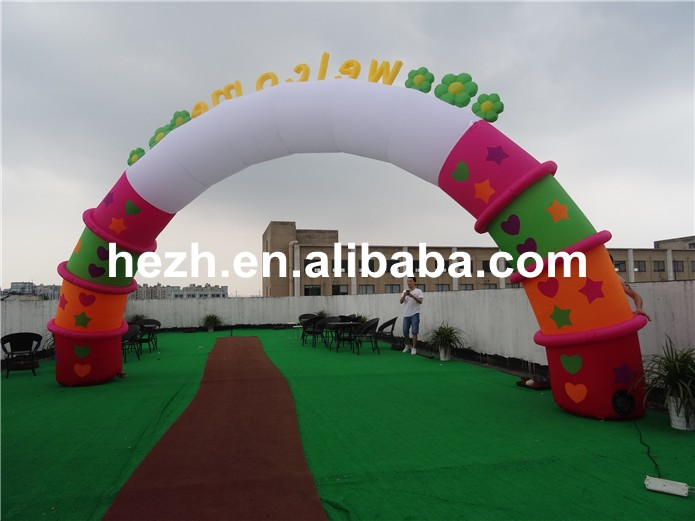 inflatable arch (63)