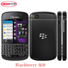 Blackberry Original Unlocked Blackberry Q10 Dual-core 8MP 2GB RAM 16GB ROM 4G Network FM Wi-Fi QWERTY Keyboard Mobile Phone(China)
