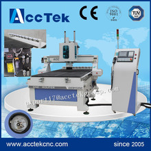 syntec controller vacuum table cnc router machine with auto tool changer(China)