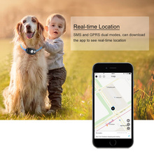 Waterproof Mini GPS Dog Collar Tracker Locator for Kids Children Pets Cats Animal Vehicle Free APP for iOS/Android Web Tracking(China)