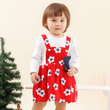 2016 Baby Girls Summer Dresses Infant Princess Dress 1 pc robe fille Clothing For Infant Girls Summer Style Top Quality Organic(China)