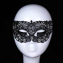 5Pcs Masque Sexy Mask Anonymous Masque Dentelle Masquerade Black Lace Mask Halloween Carnival Venice Female Party Masks
