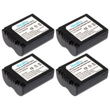 4PCS DuraPro CGA-S006 DMW-BMA7 Camera Battery for Panasonic Lumix DMC-FZ7 FZ8 FZ18 FZ28 FZ30 FZ35 FZ38 FZ50