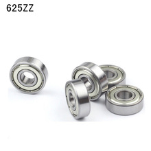10Pcs 625-ZZ C3 625 2Z C3 Deep Groove Ball Bearing Miniature Bearings 5x16x5mm