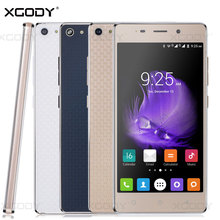 Xgody Smartphone 5 inches RAM 1GB+ROM 4GB Android 5.1 Quad Core Dual Sim Cards X18 Cheap Cell Phone