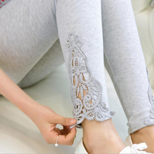 leggings 2017 new quality size S- 7xl women leggings thin hollow thin lace leggings solid pants plus size 7xl 6xl 5xl