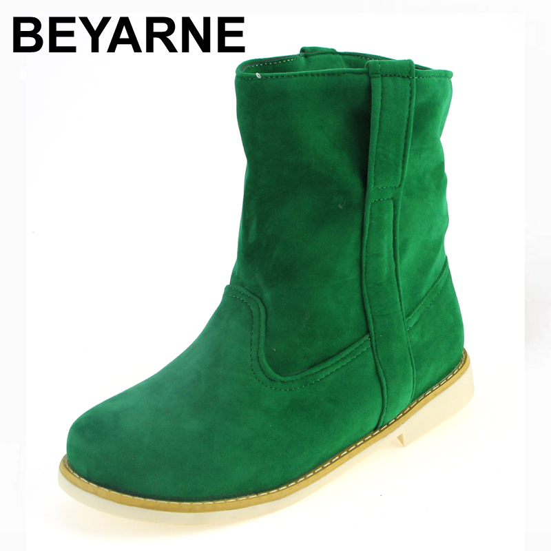 5 color New Flats Heels Ankle Boots Shoes for Women 2015 Fashion Round Toe Motorcycle Boots Autumn Spring Platform Shoes Woman<br><br>Aliexpress