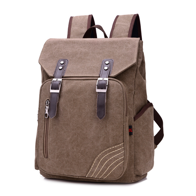 2017 latest high-capacity large-capacity retro canvas. school bag For secondary school students Fashion leisure travel backpacks<br><br>Aliexpress