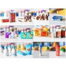 12PCS Pretend Play Toy Supermarket Set Dollhouse Supplies Accessories Doll House Toy(China)