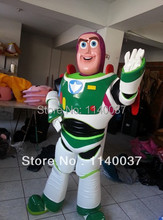 mascot Quality Toy Story Buzz Lightyear Mascot Costume Adult Character Fancy Dress Cartoon Outfit Suit EMS Free Ship