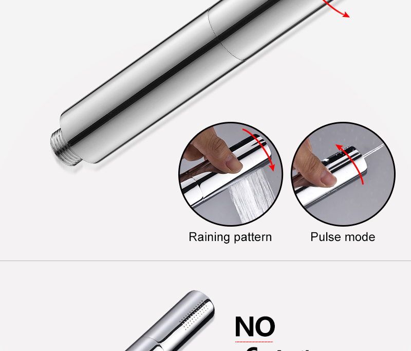hm With Switch Hand Shower Head Brass Pressure Rain&Pulse Spray Gun Super Supercharged Bathroom Detachable Washable Shower Head (16)