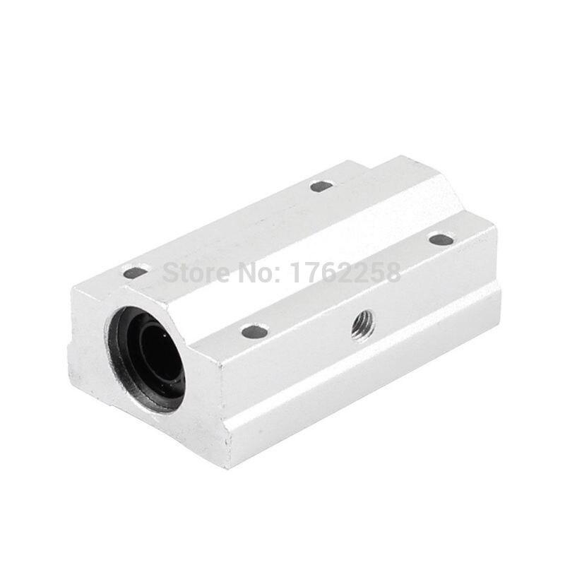 2pcs/lot Free shipping SC10LUU SCS10LUU 10mm long type Linear Ball Bearing Block CNC Router<br><br>Aliexpress