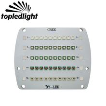 Topledlight Customize 5 Channel 50LEDS Led Emitter Lamp Light Cree XPE XP-E + Epileds For DIY Plant Grow Led Bulb Lamp Lightings