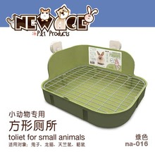 Pet Hygiene Supplies Small Animal Products Cage Corner Large Size Toilet Litter Tray Litter Box For Rabbit Guinea Pig Chinchilla