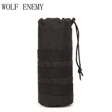 Molle Bottle Bag Outdoor Bottle Pocket The Wild Mesh Fabric Water Bottle Cage Field Bottle Bag New Arrival Tactical Equipment(China)
