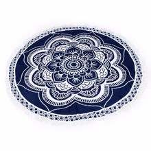 Chiffon Round Beach Pool Home Shower Towel Blanket Table Cloth Yoga Mat Home Decor purposes Toalla De Playa
