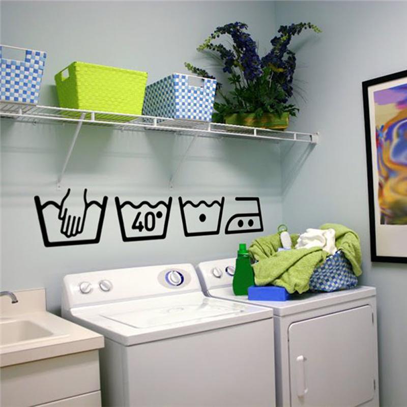 HTB1TiUdSFXXXXXCapXXq6xXFXXXn - Vinyl Wall Decals Cleaning instructions Laundry room For Bathroom