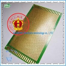Free shipping .9 * 15cm PCB universal board green oil fiberboard pegboard 1.2mm thick glass plate epoxy board