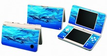 Dolphin 025 Vinyl Skin Sticker Protector for Nintendo DSI XL LL for NDSI XL LL skins Stickers